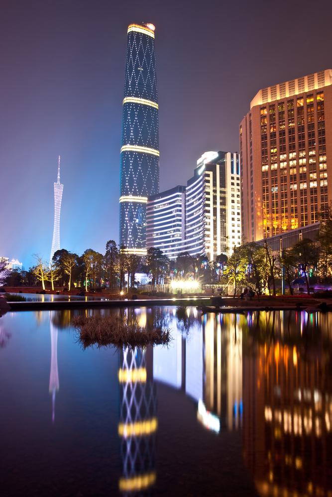 Guangzhou International Finance Center w Chinach