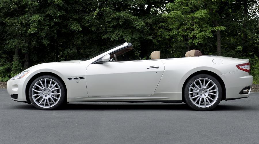 Maserati GranTurismo Convertible.
